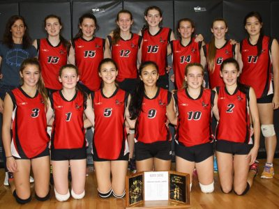 Juvenile Girls Win North Shore Title!