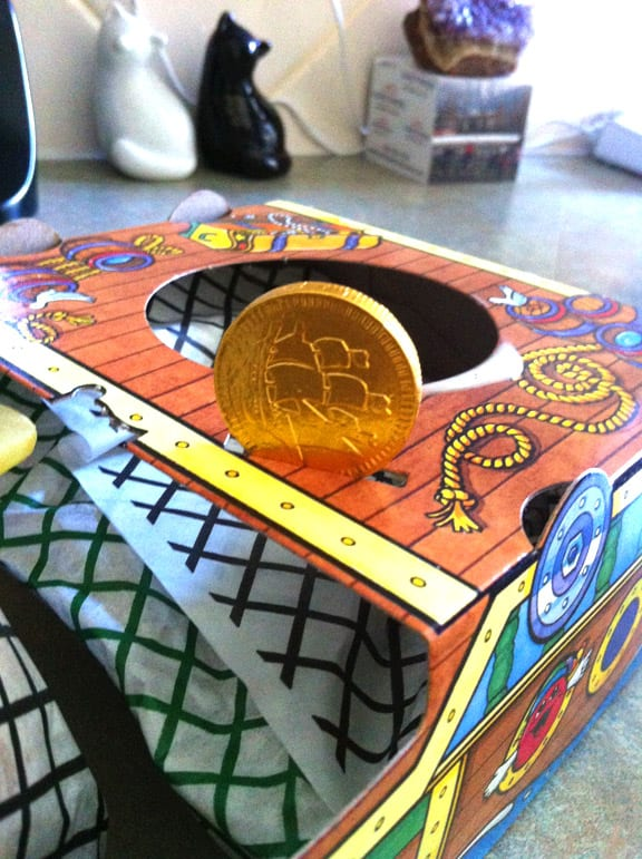 chocolate gold coin